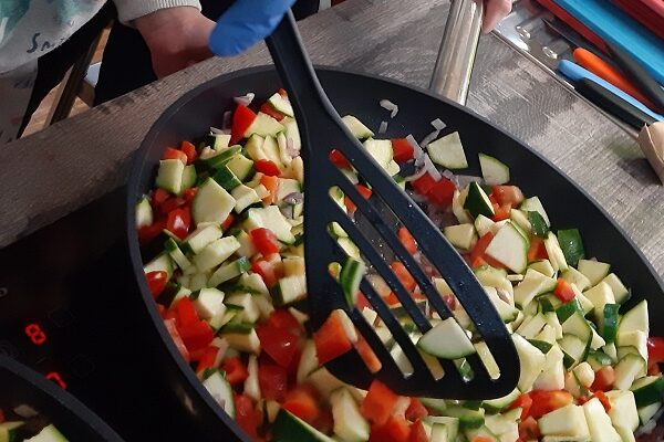 """Aktuelles """"Fit, gesund und lecker"""" - Gemüse in der Pfanne"""
