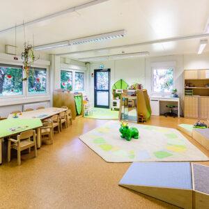 Spielzimmer der Spatzengruppe | Foto: Studio Thomas Köhler im Auftrag der Container Rent Petri GmbH