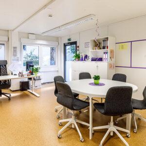 Raum der Einrichtungsleitung | Foto: Studio Thomas Köhler im Auftrag der Container Rent Petri GmbH